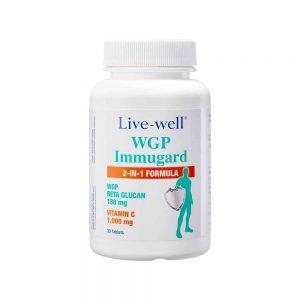 WGP Immugard featured nutritional product